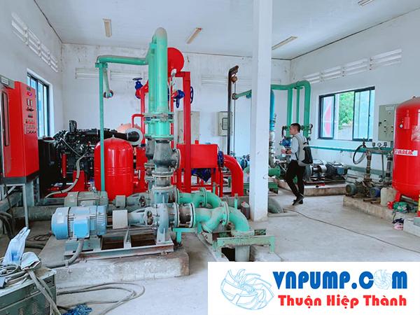 Cụm Bơm PCCC Cho Công Ty Tại Khu CN Nhơn Trạch - Đồng Nai