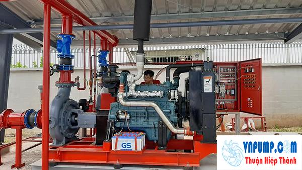 Máy bơm chữa cháy có động cơ diesel