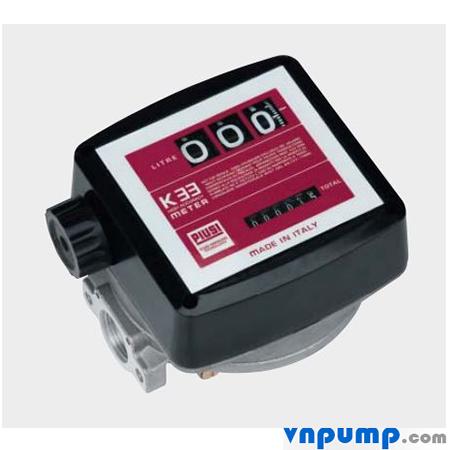 Đồng hồ đo dầu Piusi