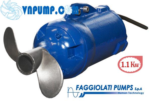 Máy khuấy chìm Faggiolati